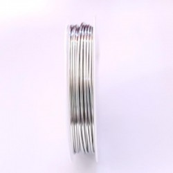 Měděný drátek 1mm 2m stříbrná