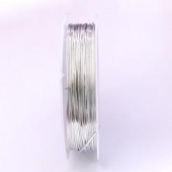 Měděný drátek 0,6mm 6m stříbrná