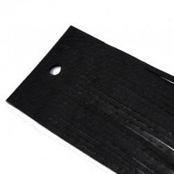 Kůže plochá 95-100cm černá