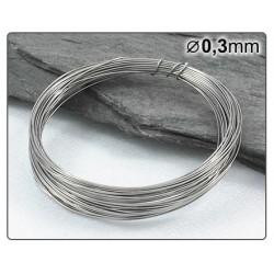 Nerezový drátek 0,3mm 5m