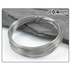 Nerezový drátek 0,4mm 5m