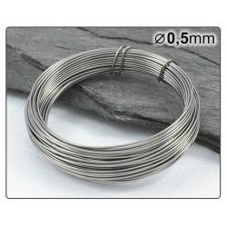 Nerezový drátek 0,5mm 5m