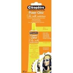 Lepidlo transparentní Power Cléor 30ml