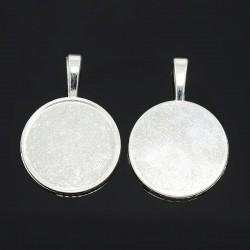 Lůžko 25mm 1ks stříbrná