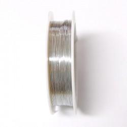 Měděný drátek 0,3mm 20m stříbrná