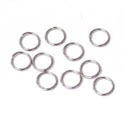 Spojovací kroužek 6mm 10ks chirurgická ocel