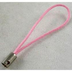Šňůrka na mobil 5ks růžová světlá