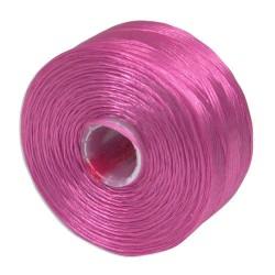S-lon nit vel.D 0,11mm 71m růžová vřesová