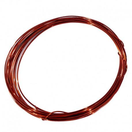 Měděný drátek 1mm 5m