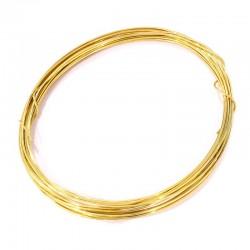 Mosazný drátek 1mm 5m