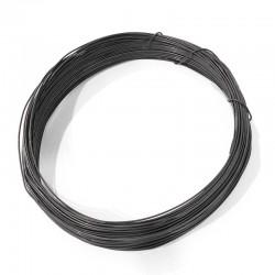 Vázací drátek černý 0,8mm 100g (cca 25m)