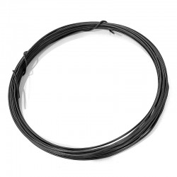 Vázací drátek černý 1,4mm 100g (cca 8m)