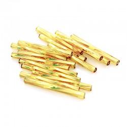 Sekaný rokajl 30mm 50ks zlatá světlá