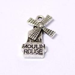 Přívěšek Moulin Rouge 20x13mm 1ks starostříbro