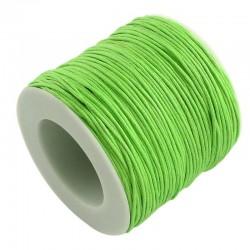 Povoskovaná šňůrka 0,8mm 5m zelená