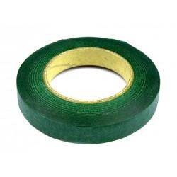 Floristická páska 12mm 27m  zelená