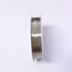 Měděný drátek 0,2mm 60m stříbrná