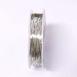 Měděný drátek 0,4mm 16m stříbrná
