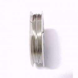 Měděný drátek 0,8mm 4m stříbrná