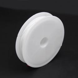 Bižuterní lanko 0,45mm 1m bílá