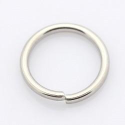Spojovací kroužek 10mm 50ks stříbrná