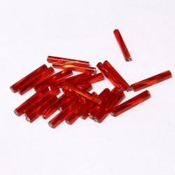 Sekaný rokajl 15mm 50ks červená