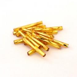 Sekaný rokajl 20mm 50ks zlatá