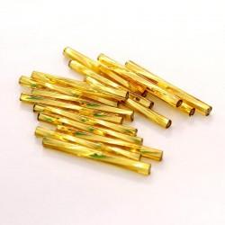 Sekaný rokajl 30mm 50ks zlatá